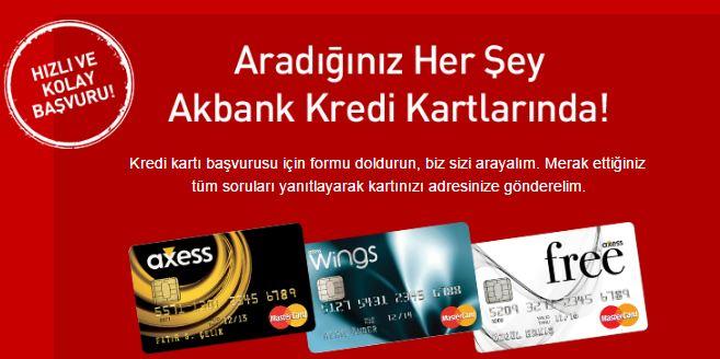 AkBank Axess Kredi Kartına Nasıl Başvuru Yapılır?