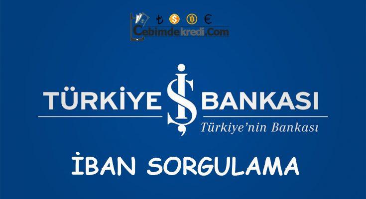 İŞ Bankası IBAN Sorgulama