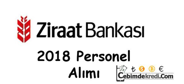 Ziraat Bankası 2018 Personel Alımı İlanı Ve Şartları