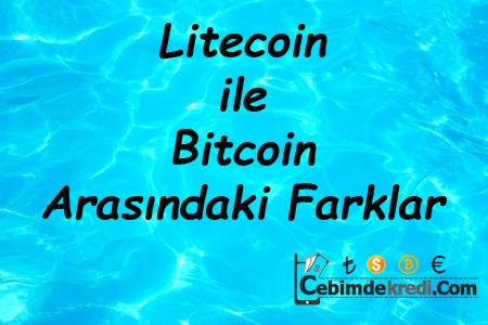 Litecoin ile Bitcoin Arasındaki Farklar