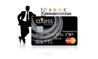 Axess Business Ticari Kredi Kartı ve Özellikleri