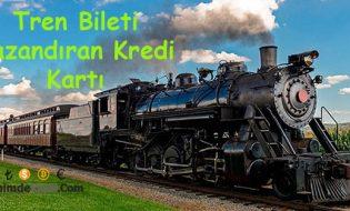 Tren Bileti Kazandıran Kredi Kartı Vakıfbank'tan